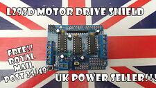 NUOVO L293D MOTOR Drive Shield per Arduino UNO MEGA dovuta UK STOCK