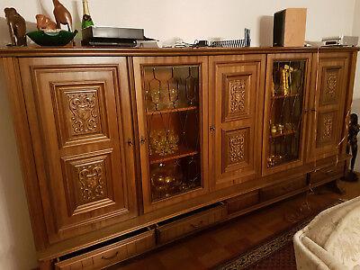 wohnzimmerschrank eiche rustikal | eBay