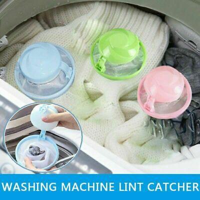 Floating Pet Fur Catcher Laundry Lint /& Pet Hair Remover B6F4 R4P2