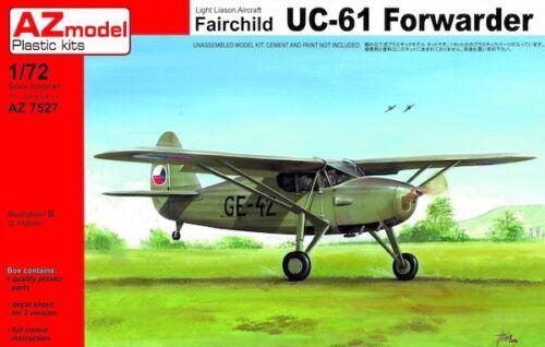 AZ Models 1//72 Fairchild UC-61 transitaire Tchécoslovaquie # 7527