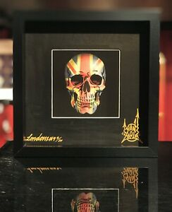 Dface Damien Hirst Pure Evil Dan Gold Limited Edition Art Print not Banksy