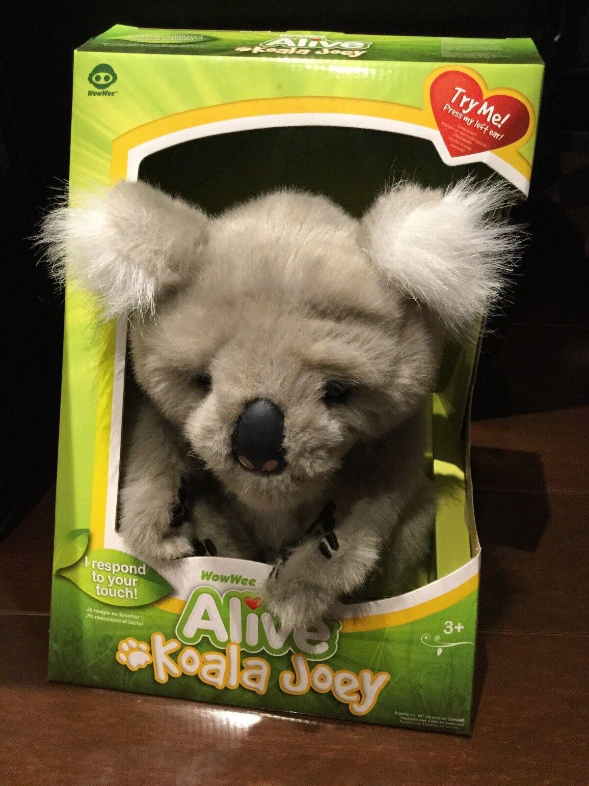 ALIVE KOALA JOEY WOWWEE BRAND NEW IN BOX