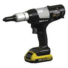 Stanley Pop Avdel Cordless Rivet Tool Withdewalt Battery 18v Amp Charger Pb2500 Na