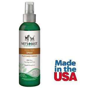Flea-Tick-Control-Spray-for-Dogs-Vet-s-Best-Made-in-USA-8-Fl-Oz