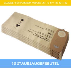 10-Filtertueten-Staubsaugerbeutel-geeignet-Fuer-Vorwerk-Kobold-118-119-120-121-122