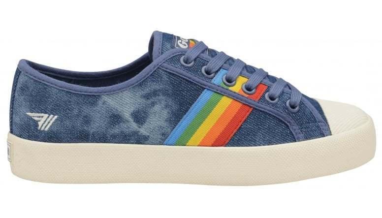 Gola classics scarpe Donna shoes Coaster Rainbow CLA671 Stile Vintage