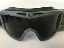 Military Tactical, Balistic Goggles Green w/ DARK Lens SET of 5