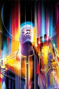Poster A3 Vengadores Avengers Infinity War Iron Man Gemas Del Infinito Marvel 01