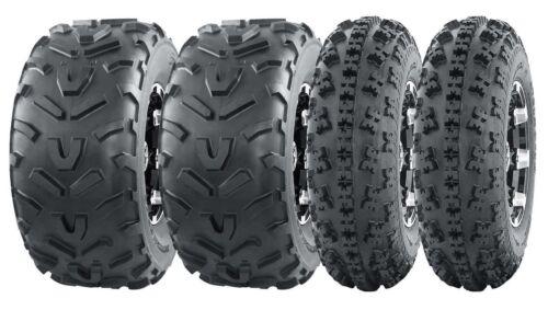 Set 4 WANDA Sport ATV Tires 23x7-10 23x7x10 Front /& 22x11-10 22x11x10 Rear 6PR