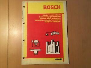 Bosch-Katalog-Zuendung-von-1974-75-Katalog-gebraucht-fuer-Oldtimer