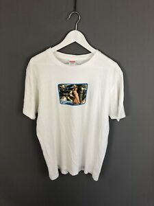 SUPREME-T-Shirt-Size-Large-White-Great-Condition-Men-s