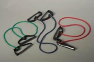 Thera-Band® Bodytrainer Tubing Set leicht 1,5 m, Fitness, Sport, Kraft Ausdauer