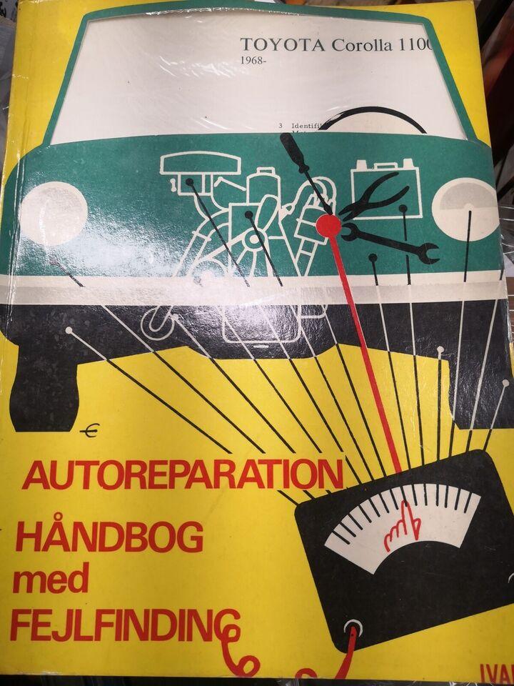 (71)Reparationsbog, Toyota Corolla 1100 1968
