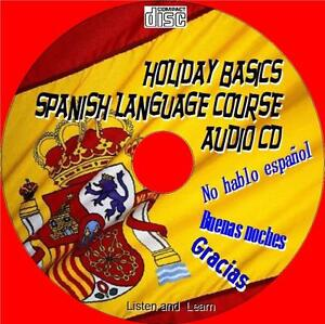 HOLIDAY-BASICS-SPANISH-LANGUAGE-LESSONS-EASY-2-USE-LISTEN-LEARN-AUDIO-CD-NEW