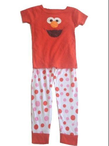 Elmo Pajamas 2 pcs Set Baby Toddler Kid/'s Boys Girls Sleepwear Sesame Street