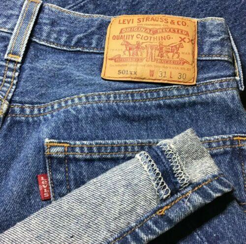 Levis 501xx Jeans 31x28 Vintage No Big E No Redlin
