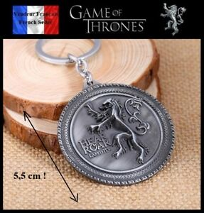 Porte-Cles-NEUF-Metal-Keychain-GOT-Game-of-Thrones-Lannister-5-5-cm-Ref-3