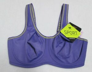 fd07024be06c8 Image is loading Wacoal-Maximum-Support-Underwire-Sports-Bra-855170-36D-