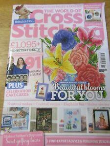 BRITIANS NO.1 The World of Cross Stitching ISSUE 281 JUNE 2019 UK Magazine