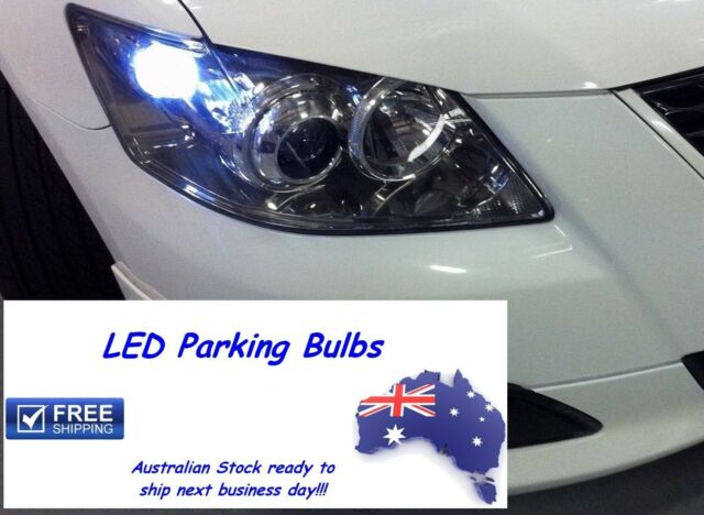 LED Number Plate / Parking Light Bulbs upgrade Toyota Camry Aurion Corolla Echo