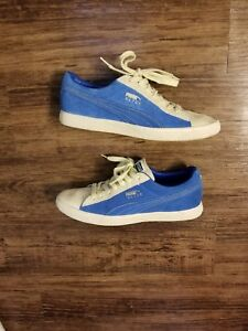 acf5f26da9440c Brand New Puma Clyde Snakeskin Deep Blue suede. Off white Men s Sz ...