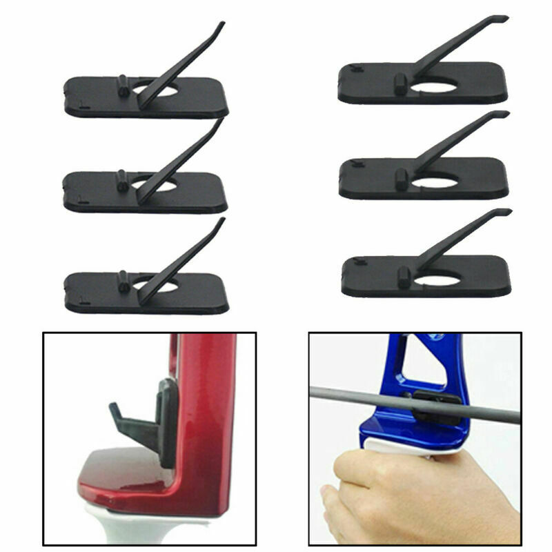Arrow Rest Plastic Recurve Bow Right Hand /& Left Hand Black/& White Colors In✔GB