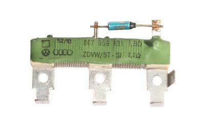 Resistance de chauffage ventilation Vw Polo = 867959131
