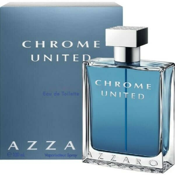 Azzaro Chrome United eau de toilette Vaporisateur 100ml