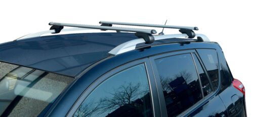 M-Way Locking Aluminium 135cm Roof Rail Bars /& Car Rack Tray for VW Touran 03-19