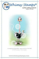 "Stempel /""Early Birds/"" Whimsy Stamps Clear Stamp lustiger Vogel"