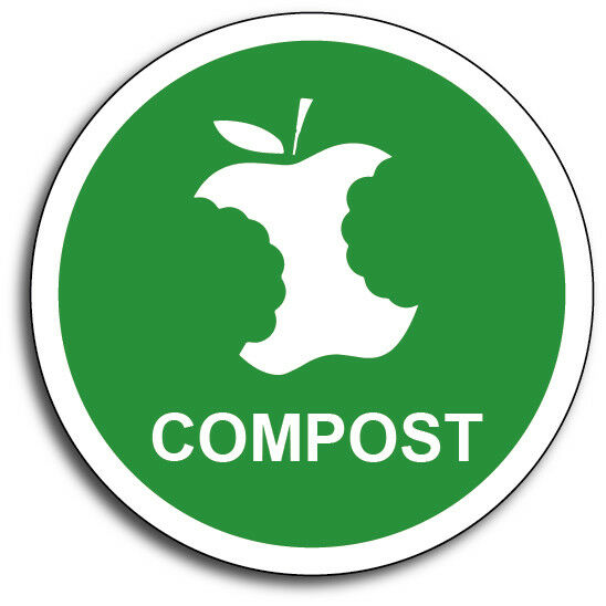 compost 4quot green garbage waste organic fertilizer mulch