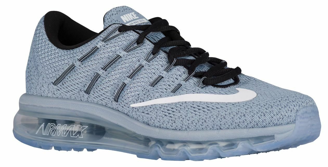 Nike Air Max 2016 Women's Running Shoes Blue Grey/White/Dark Purple Dust 405 Blue Grey/White/Black/Dark Pur...