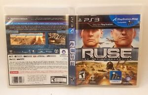 RUSE-The-Art-of-Deception-SONY-PlayStation-3-PS3-Complete-Tested-Very-Good