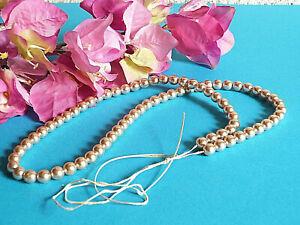194# Magnifiques Perles Anciennes Pour CrÉations Restaurations Broderie Art DÉco Dans La Douleur