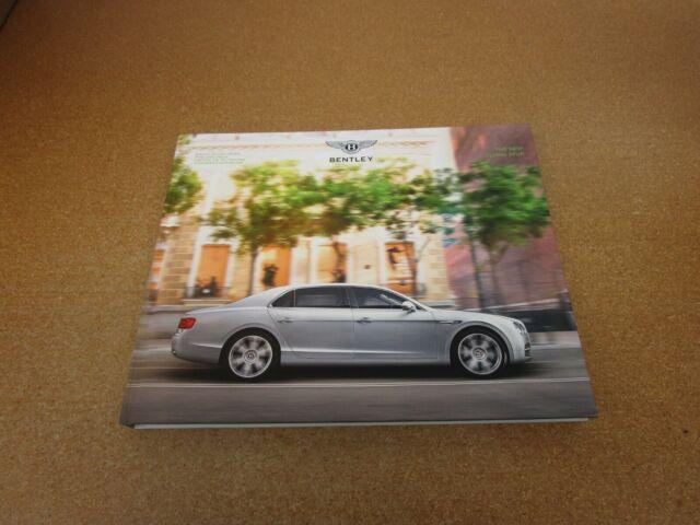 2015 Bentley Flying Spur v8 W12 Mulliner sales brochure dealer literature