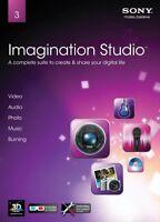 Sony Imagination Studio 3 Full Version Pc Xp/vista/7 Sealed