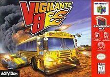 ***VIGILANTE 8 N64 NINTENDO 64 GAME COSMETIC WEAR~~~