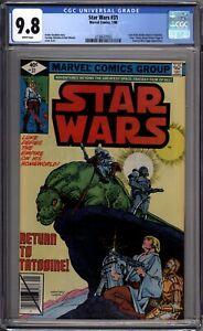 Star-Wars-31-CGC-Graded-9-8-NM-MT-Marvel-Comics-1980