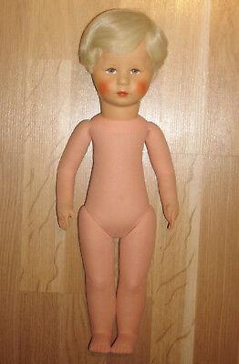 Käthe Kruse Puppe 47 Cm Gross Von 1968 Handgestopft Hampelchen Mit Stehbeinen