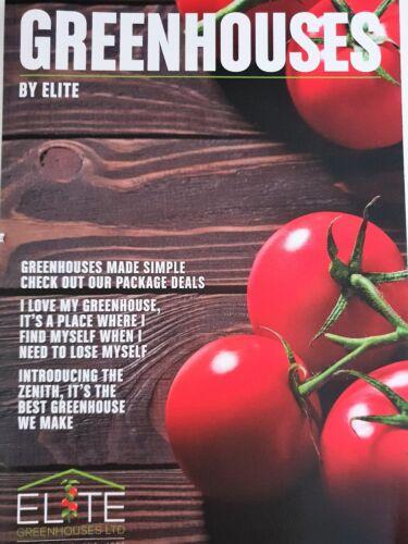 20 Elite Greenhouse Aluminium 11mm Square Head bolts /& nuts Rust Free