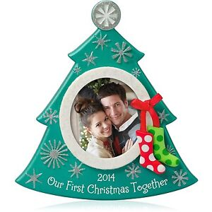 Hallmark QGO1173 Our First Christmas Photo  2014 Christmas