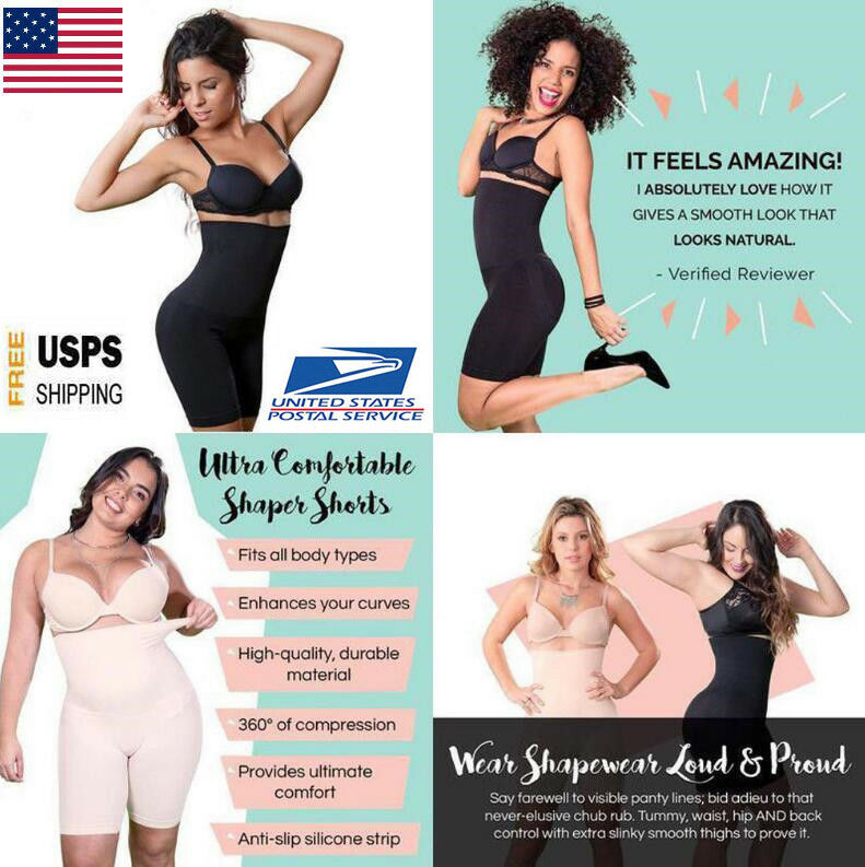 Shapermint Empetua All Day Every Day High-Waisted Shorts Pants Women Body Shaper 2