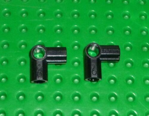 TK257 32014 LEGO AXLE /& PIN CONNECTORS ANGLED #6 BLACK  x 6 TECHNIC