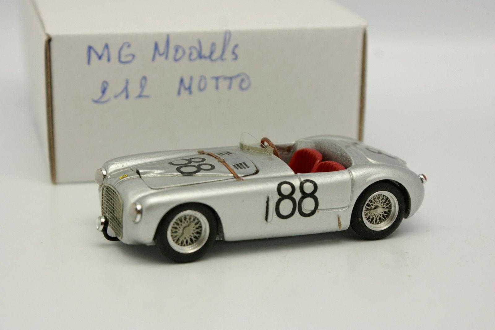 MG Models Kit Monté 1 43 - Ferrari 212 Export Spider Motto N°88
