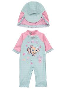 3df618307e Image is loading Girls-Disney-Finding-Nemo-Sun-Protection-UV40-Swimsuit-