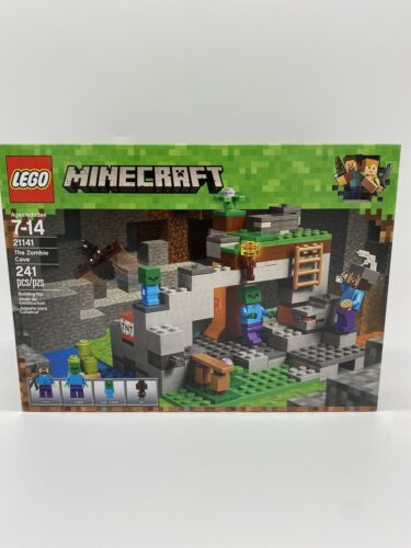 Lego Minecraft The Zombie Cave 21141 New In Box