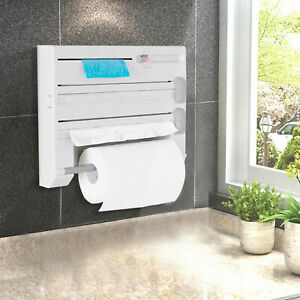6in1-Wall-Mounted-Kitchen-Rack-Towel-Holder-Foil-Roll-Organizer-Film-Dispenser