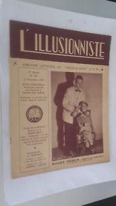 EL ILUSIONISTA Revista Dibujada N º 183 19è Annee 2E Cuarto 1953 Con ABE
