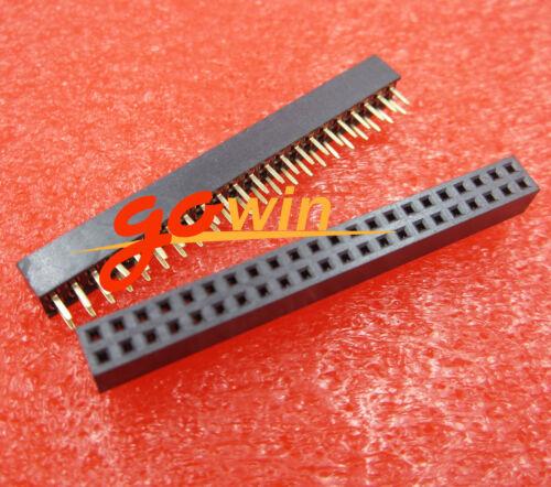 5PCS 2.0mm 2X22 Pin Double Row Female Straight Header Pitch Socket Pin Strip