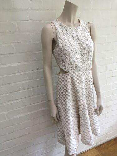 Size Large Uk Sonoran Tibi Eyelet Amazing 12 Dress 8 Us L qnI60vx7dw
